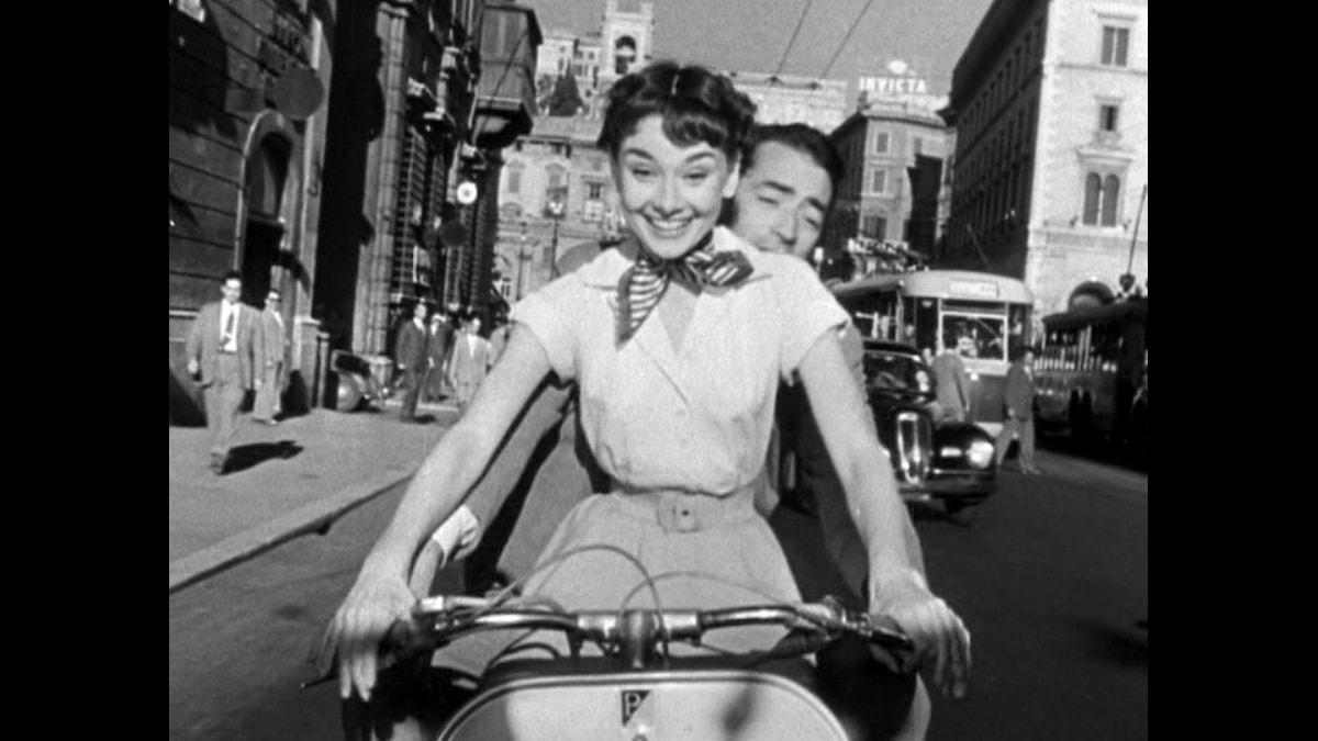 Audrey Hepburn och Gregory Peck
