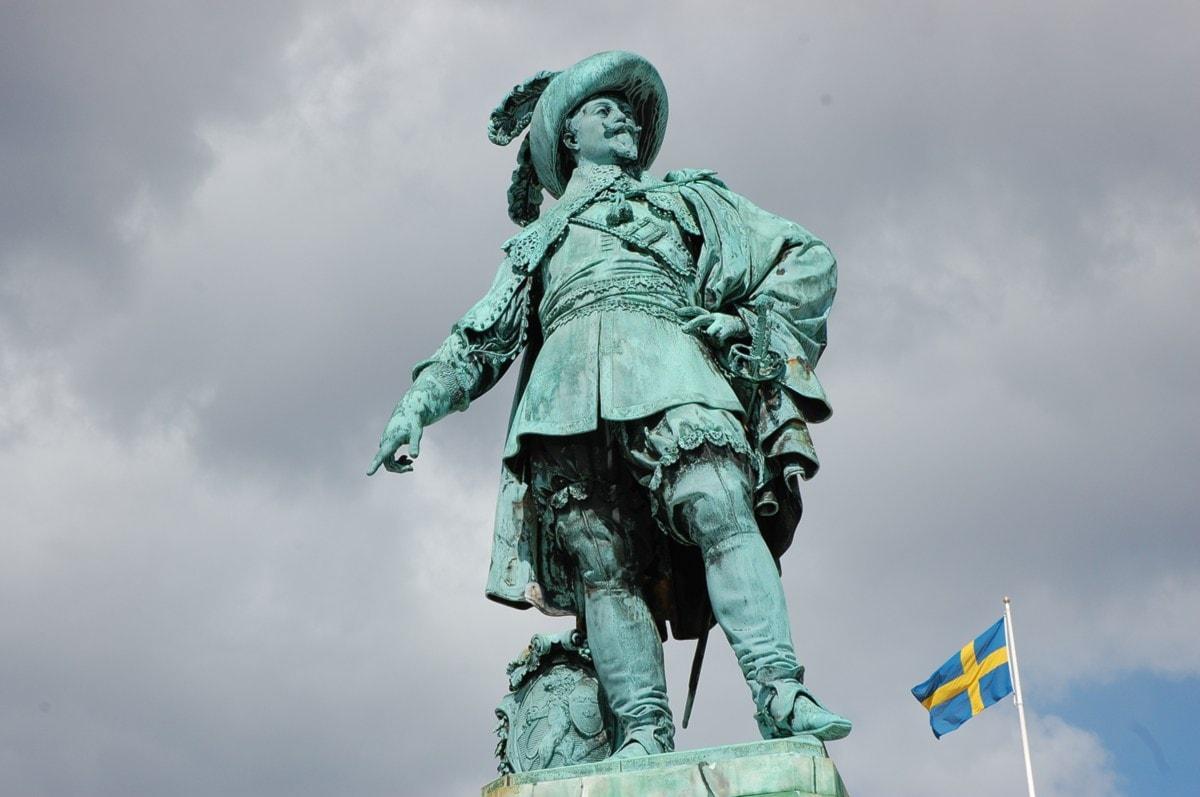 Gustav II Adolf-statyn i Göteborg