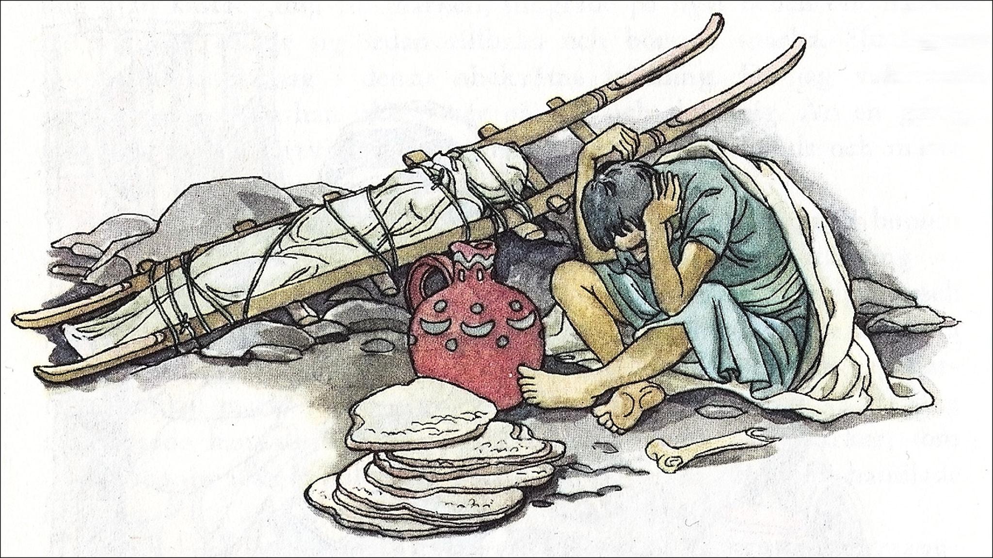 Sindbad Sjöfararen, ur Tusen och en natt