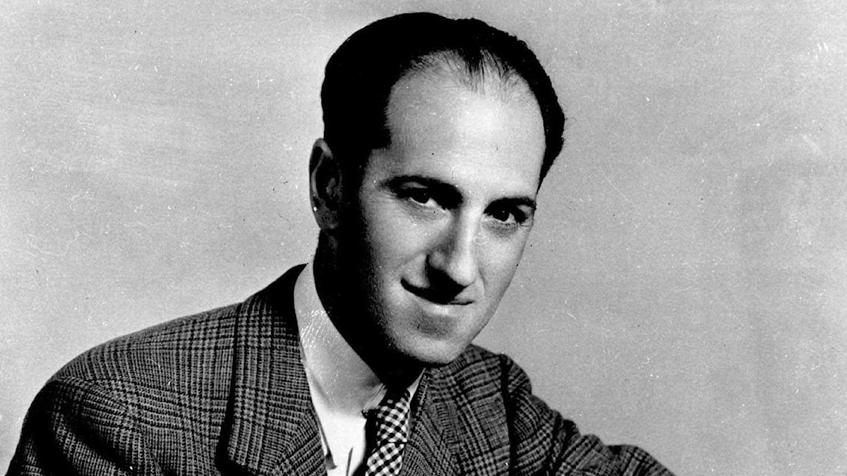 """This is a Sept. 20, 1935, portrait of George Gershwin, composer of """"Rhapsody in Blue,"""" and """"Porgy and Bess,"""" who was born on Sept. 26th, 1898."""
