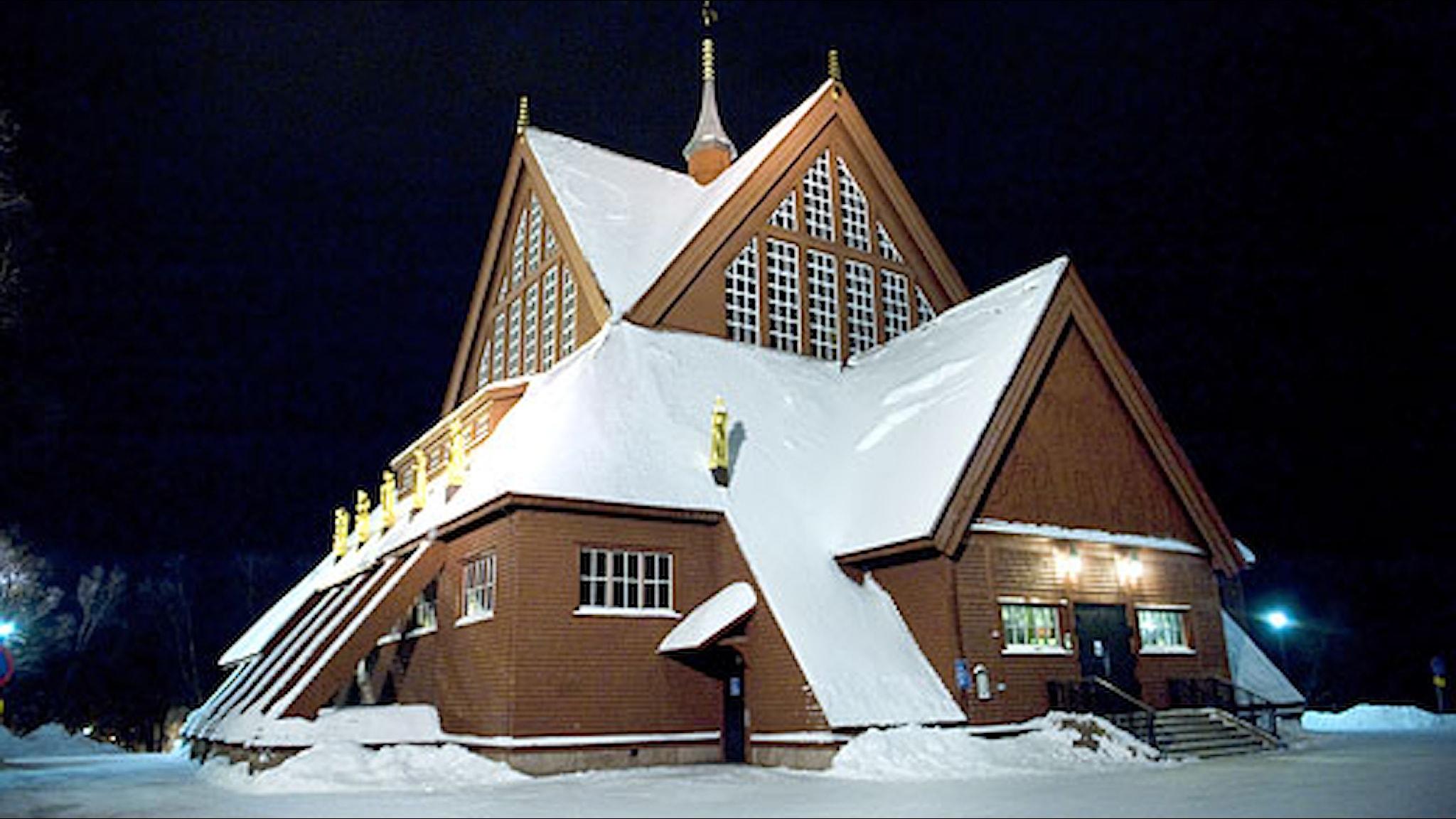 Kiruna kyrka. Foto: Maja Suslin/Scanpix.