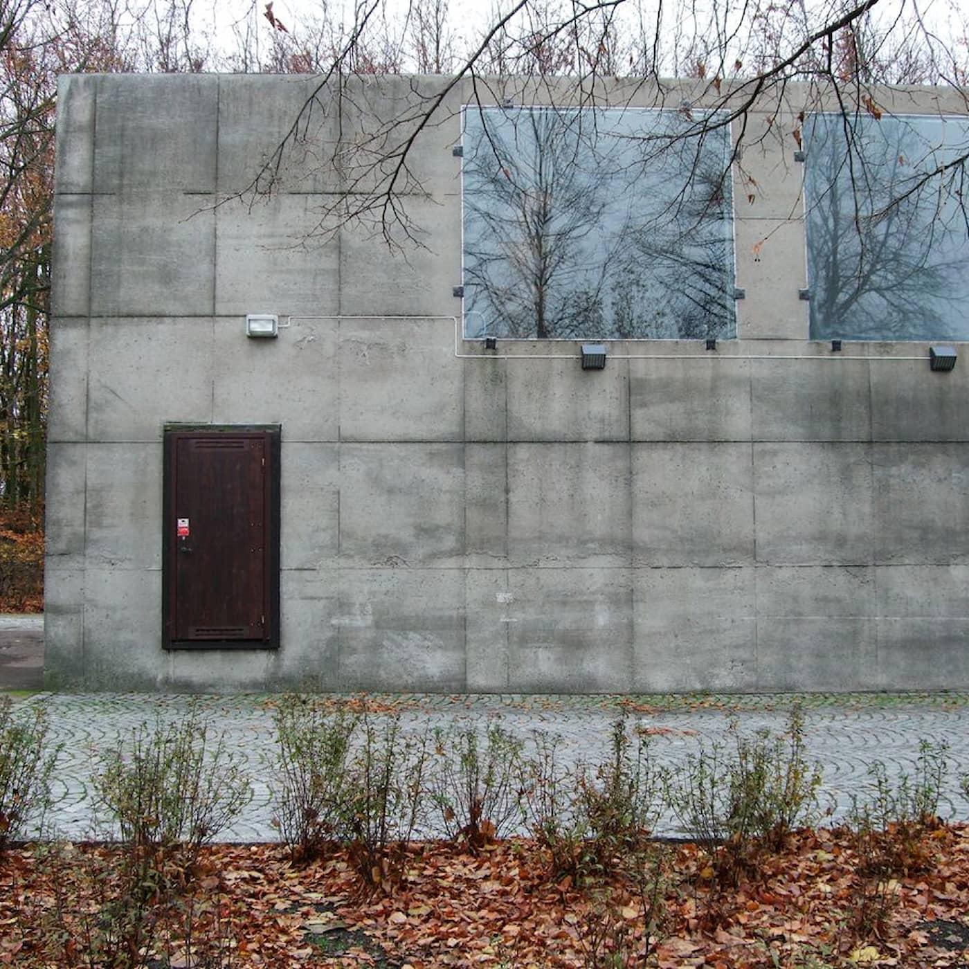 Blomsterkiosken av Sigurd Lewerentz – brutal betong i Malmö