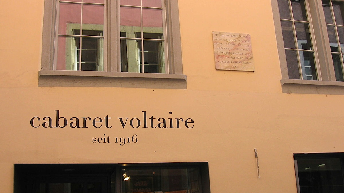 Cabaret Voltaire i Zürich Foto: Wikipediacommons
