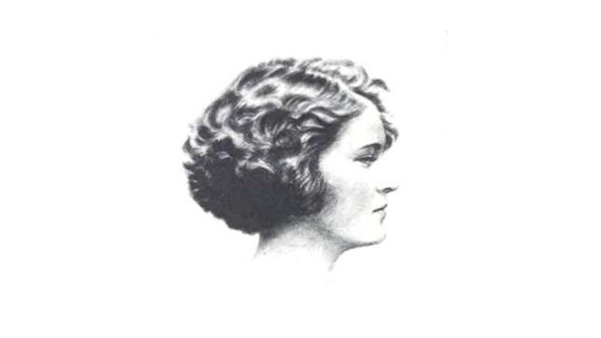 Zelda Fitzgerald, 1922.