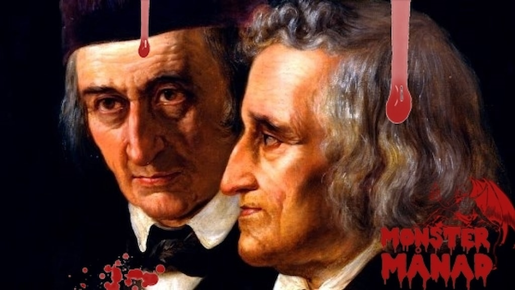 Bröderna Grimm, Wilhelm och Jacob.
