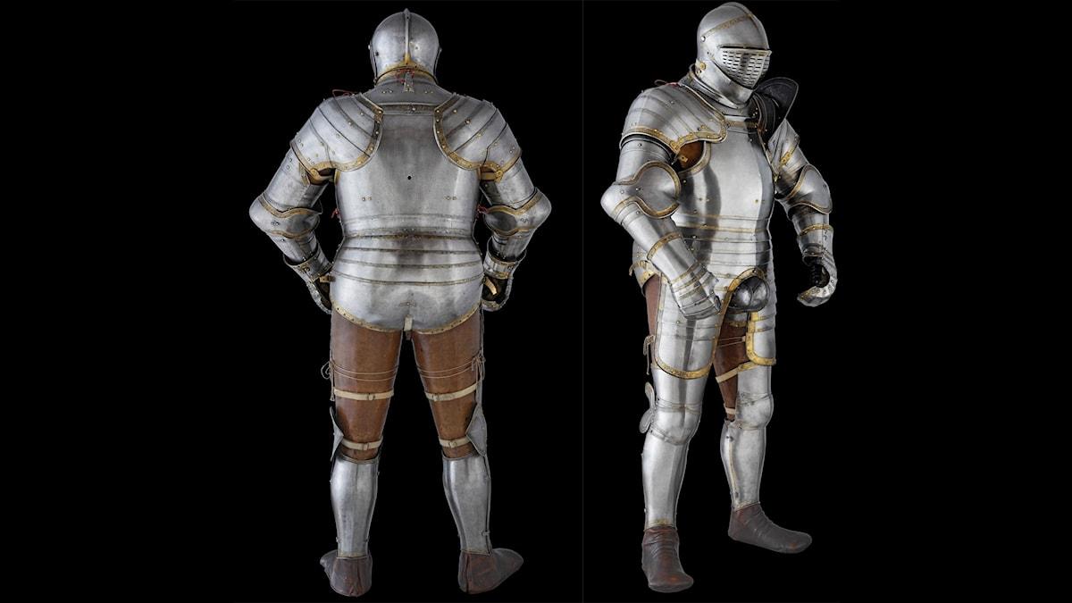 Henrik VIIIs tornerspelsrustning på Towern i London