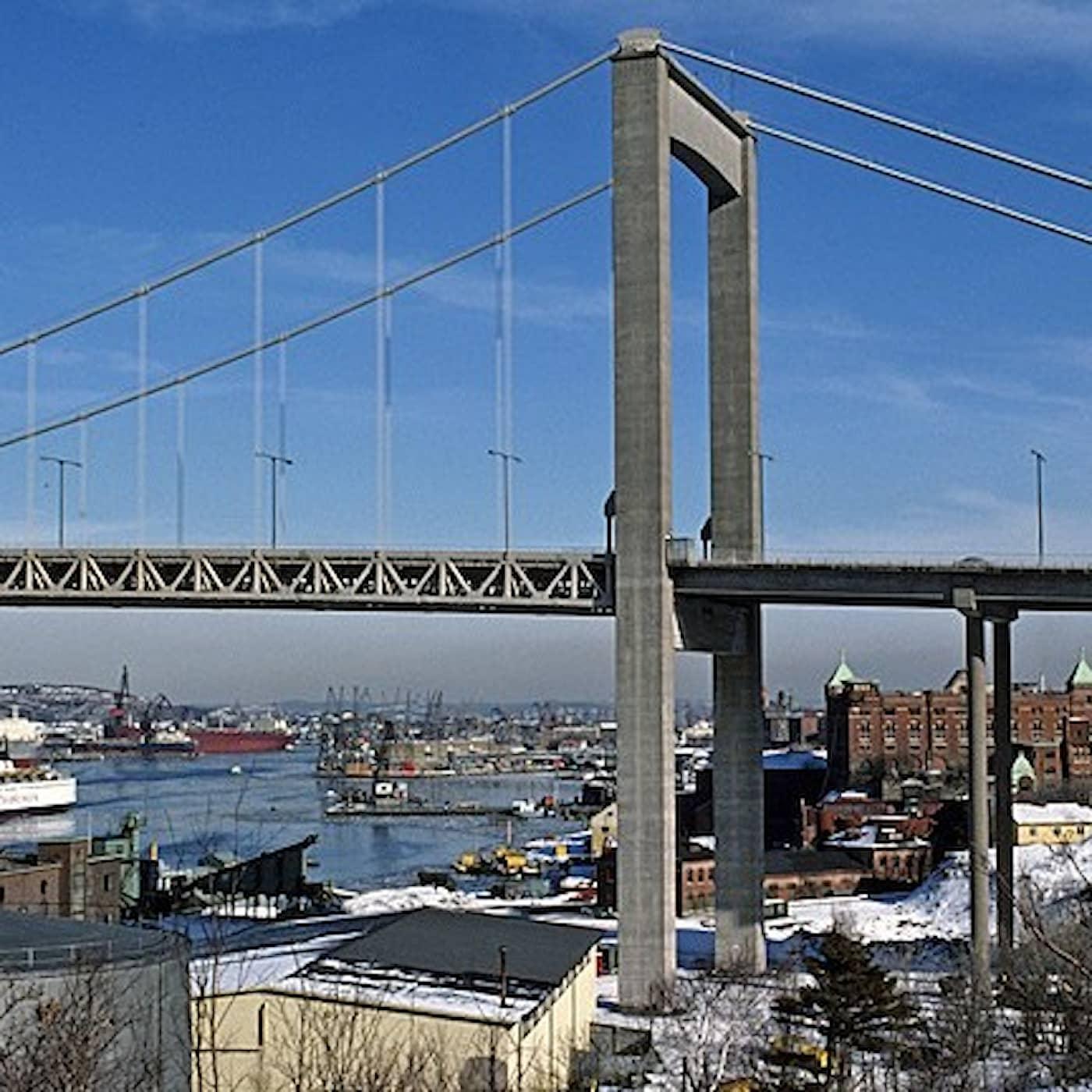 Älvsborgsbron - Göteborgs port mot väster