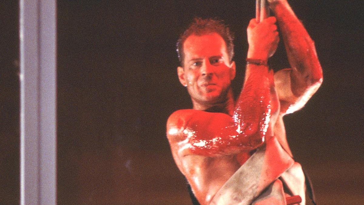 Bruce Willis var inte självklar som actionhjälte innan rollen som John McClane i Die Hard.