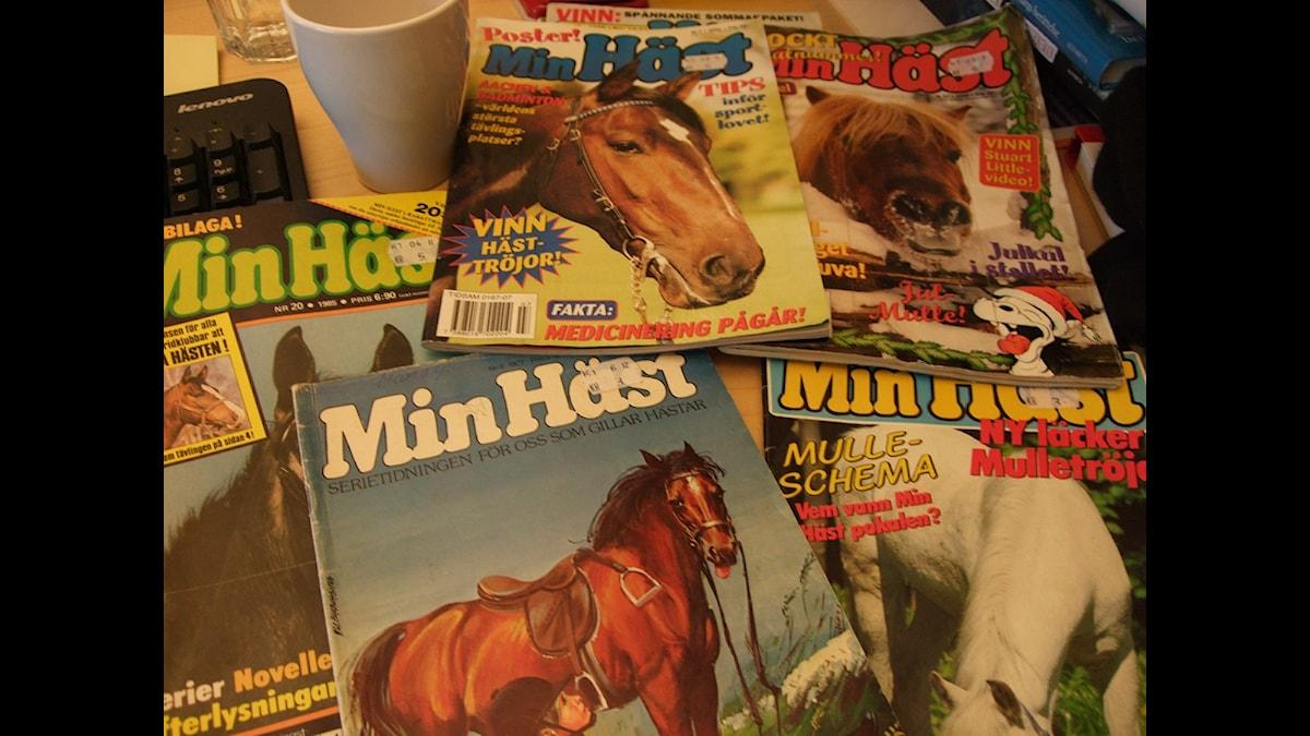 Serietidningen Min Häst