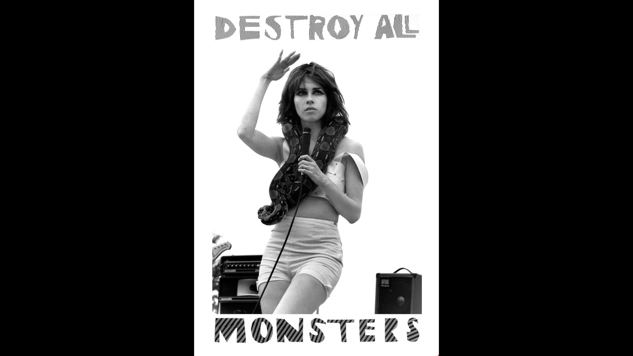 Destroy All Monsters. Bandaffisch.