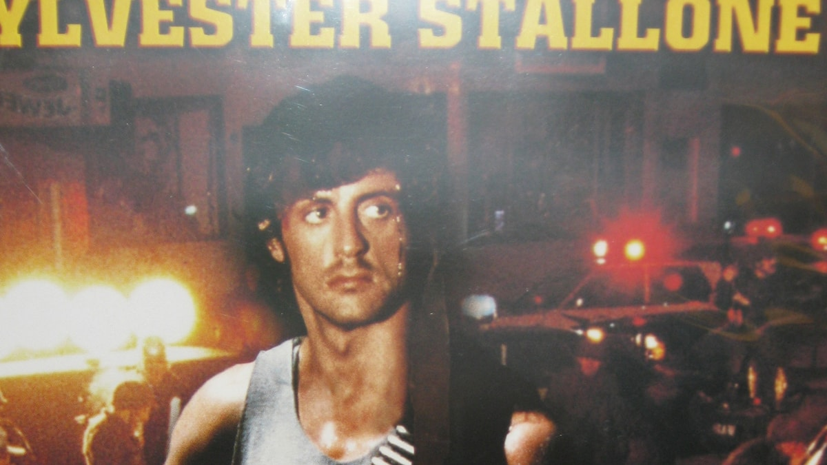 Rambo filmaffisch 80-tal