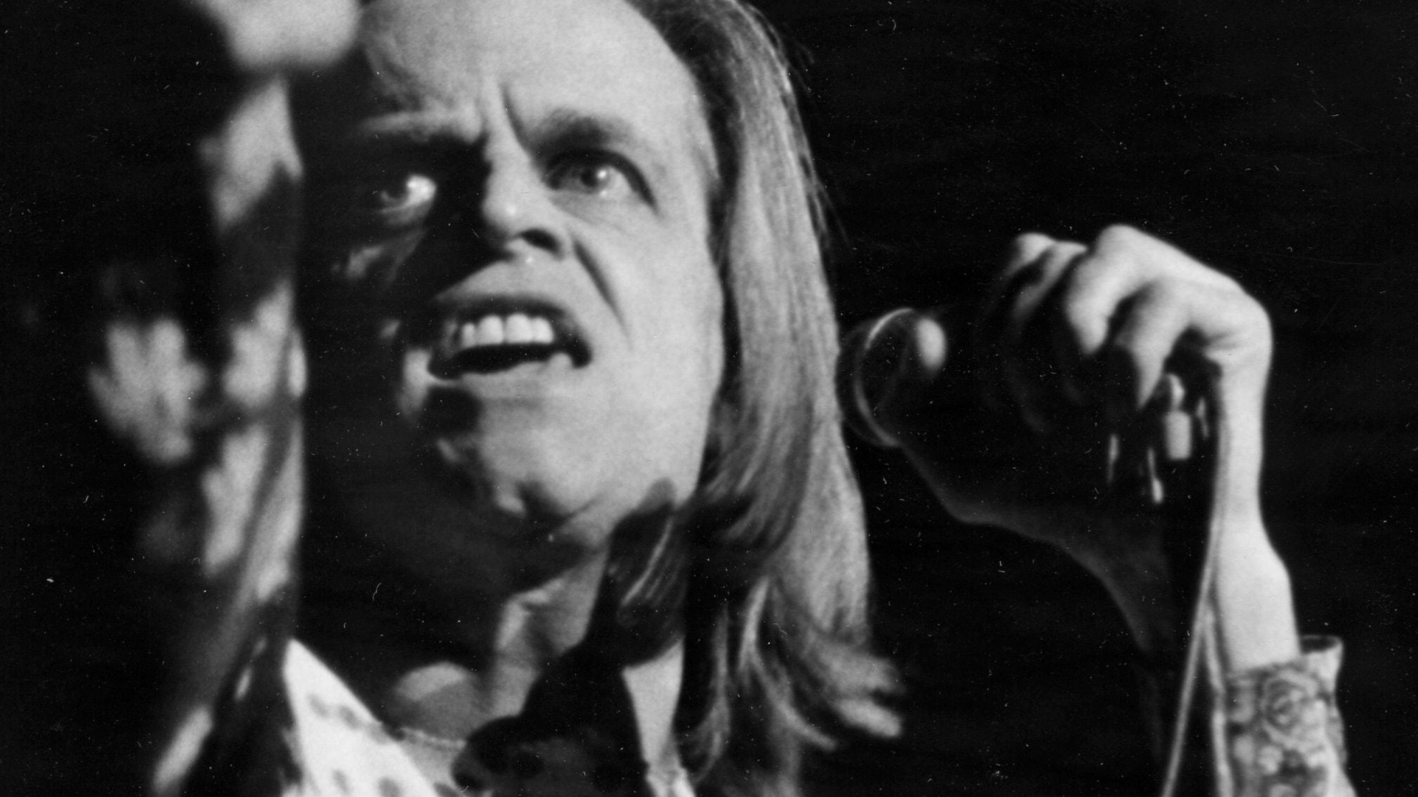 Skådespelaren Klaus Kinski