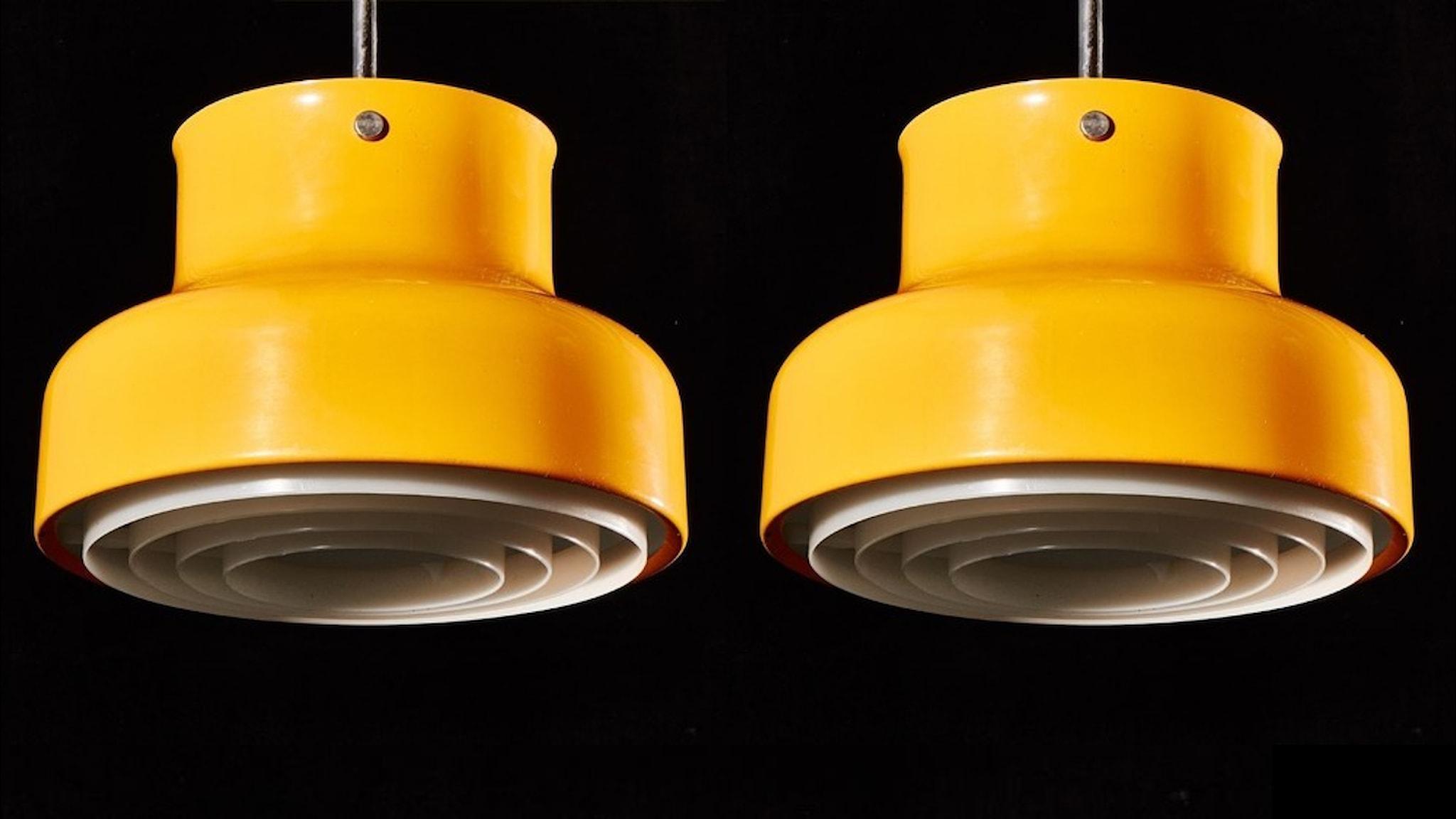 Bumlingen i en klassisk sjuttiotalsfärg, gul