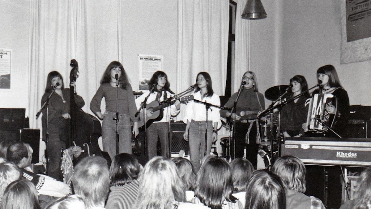 Röda Bönor 1977 Musikhuset Kalmar.