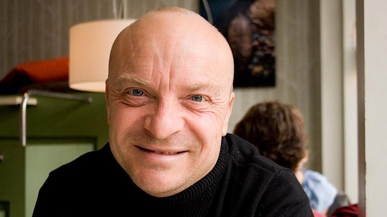 Jonas Gardell på återbesök i Haffa. Foto: Pia Lindhe Rudolf