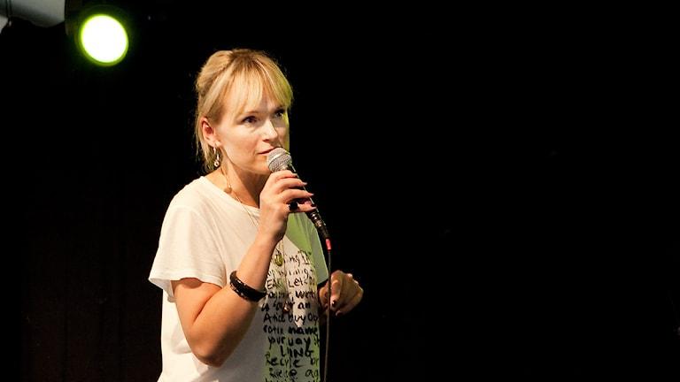 Cajsa Stina Åkerström. Foto: Pia Lindhe Rudolf