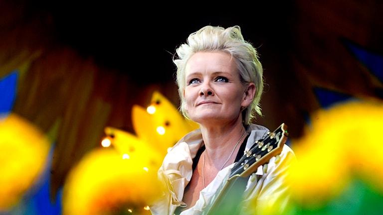 Eva Dahlgren. Foto: Tomas Oneborg / SvD / Scanpix