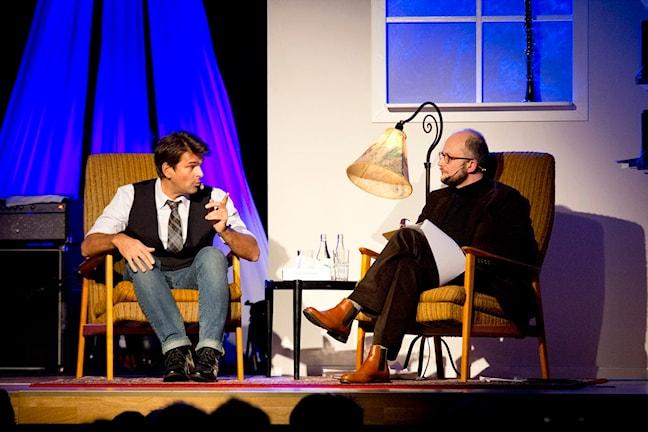 Niklas Strömstedt och Per Naroskin. Foto: Mattias Blomqvist/Pressbild