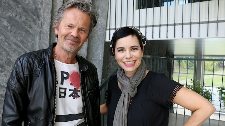Anders Glenmark och Carolina Norén