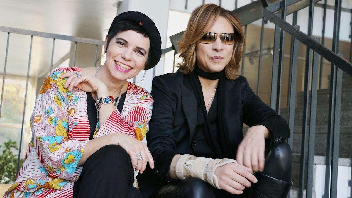 Carolina Norén och Yoshiki