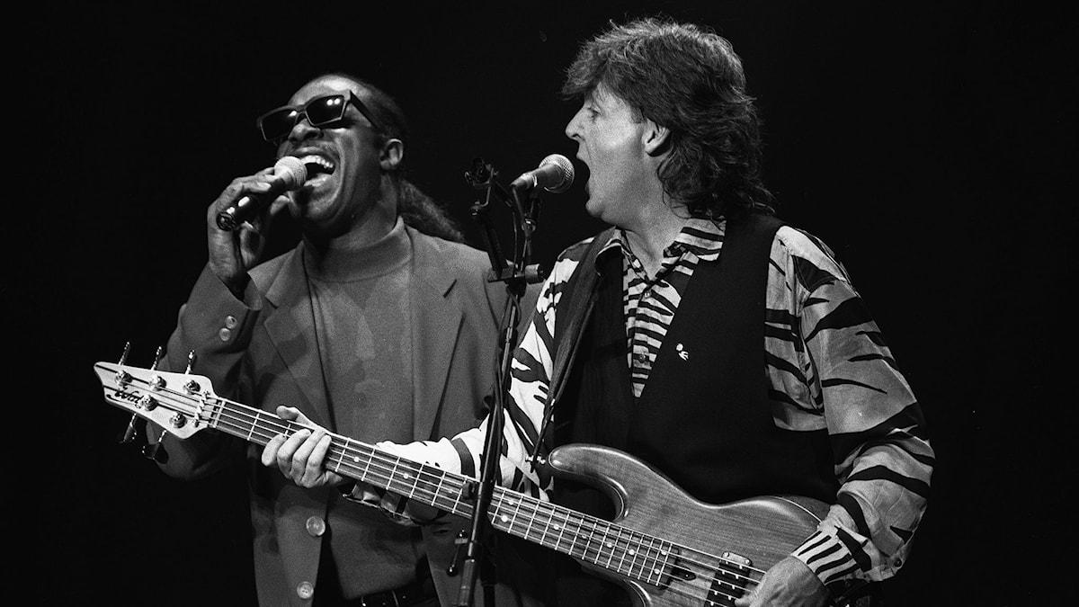 Stevie Wonder och Paul McCartney