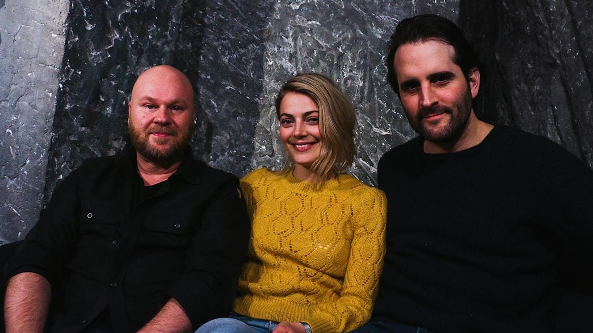 Fredrik Kempe, Philip Jalmelid och Tuva B Larsen