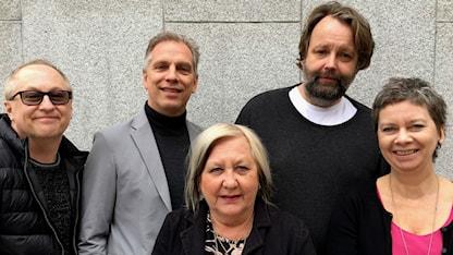 Olle Nilsson Ulf Sigmundsson Kerstin Behrendtz Jonas Westman Rita Jernquist