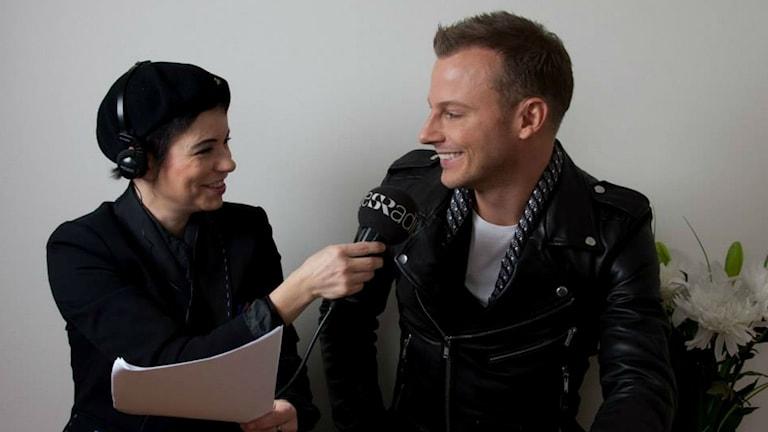 Carolina Norén & Magnus Carlsson (Foto: Ronnie Ritterland/Sveriges Radio)