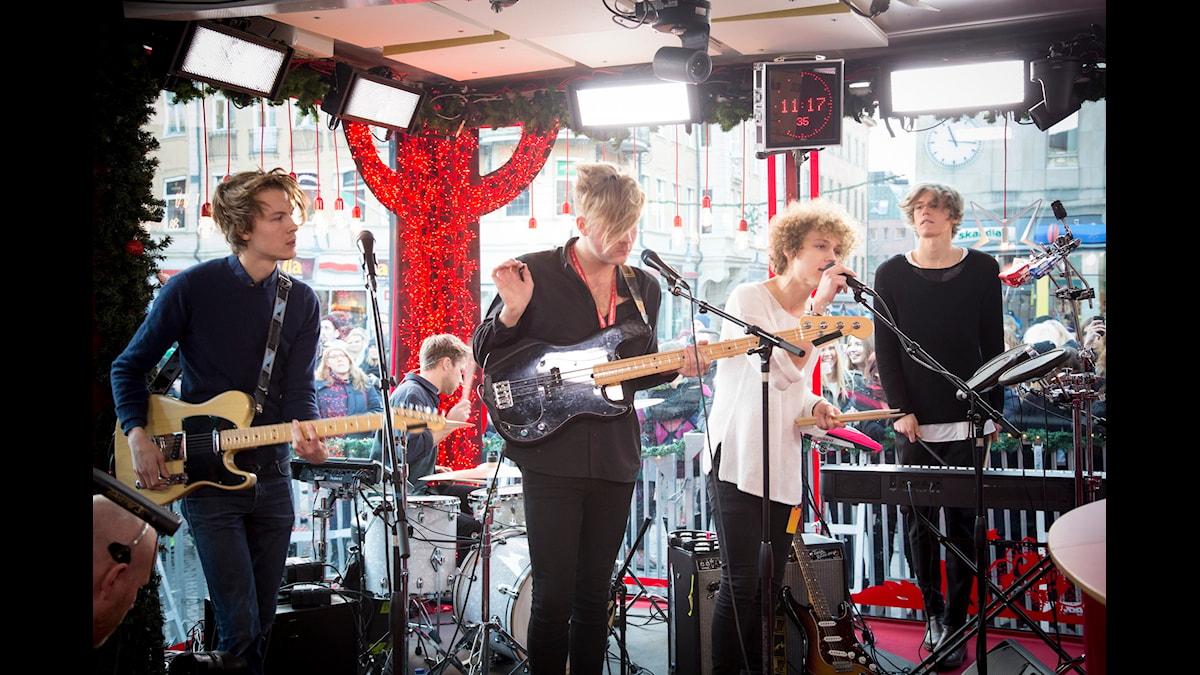 Urban Cone på Musikhjälpen. Foto: Sveriges Radio