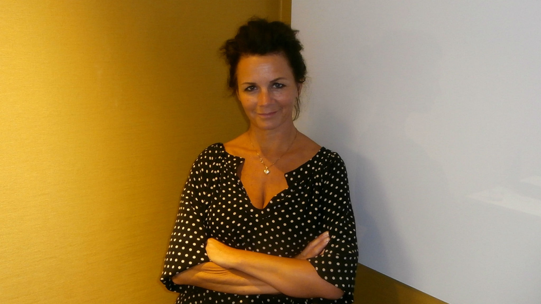 Lena Philipsson (Foto: Micke Cederberg/Sveriges Radio)