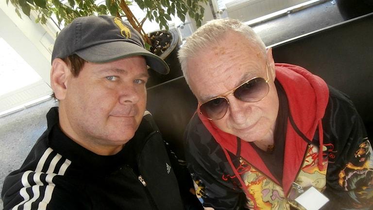 Micke Cederberg och Jerry Williams