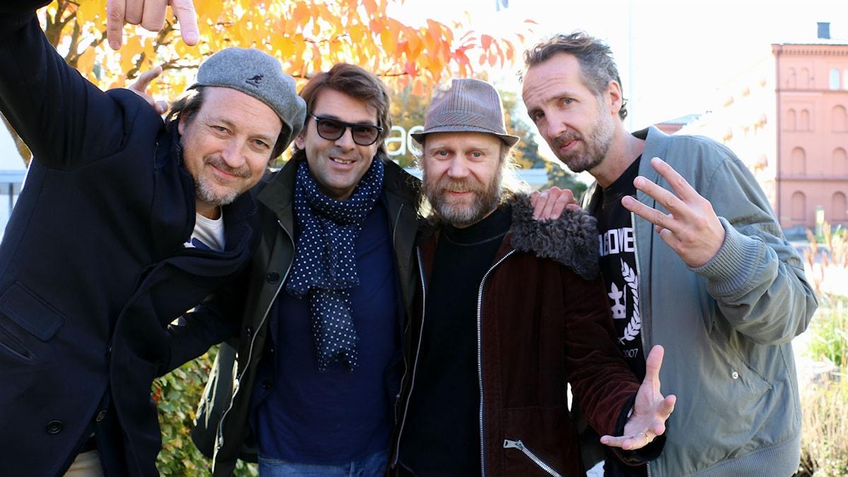 Just D och Niklas Strömstedt (Foto: Ronnie Ritterland/Sveriges Radio)