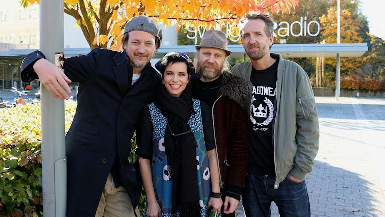 JustD och Carolina Norén (Foto: Ronnie Ritterland/Sveriges Radio)