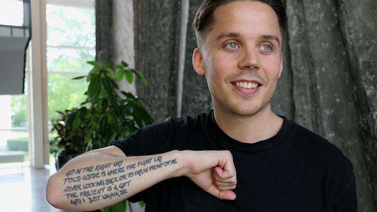 Albin (Foto: Ronnie Ritterland/Sveriges Radio)
