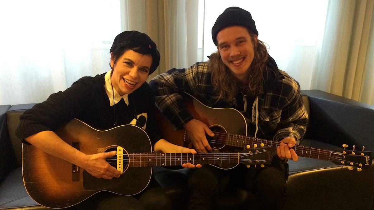 Carolina Norén och Andreas Moe (Foto: Jens Bengtsson)