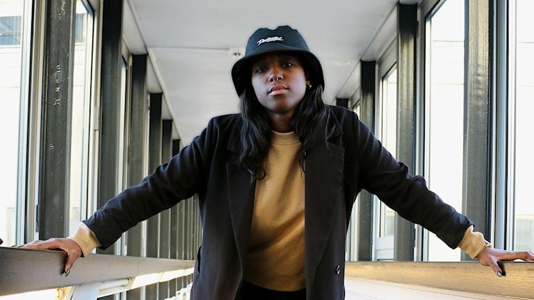 Sabina Ddumba (Foto: Ronnie Ritterland/Sveriges Radio)