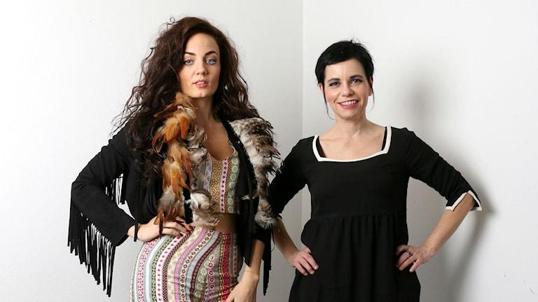 Mimi Werner och Carolina Norén
