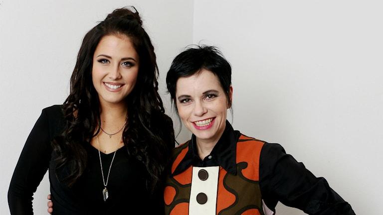 Molly Sandén och Carolina Norén