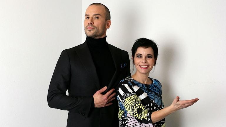 Martin Stenmarck och Carolina Norén