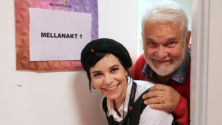Carolina Norén och Hasse Andersson