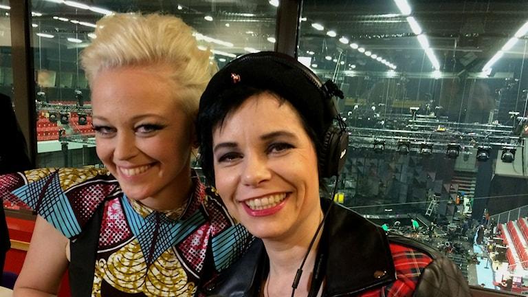 SaRaha och Carolina Norén