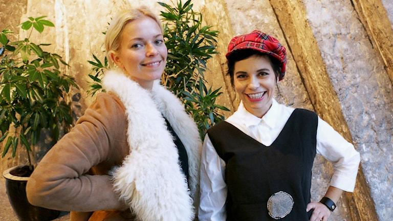 Petra Marklund och Carolina Norén