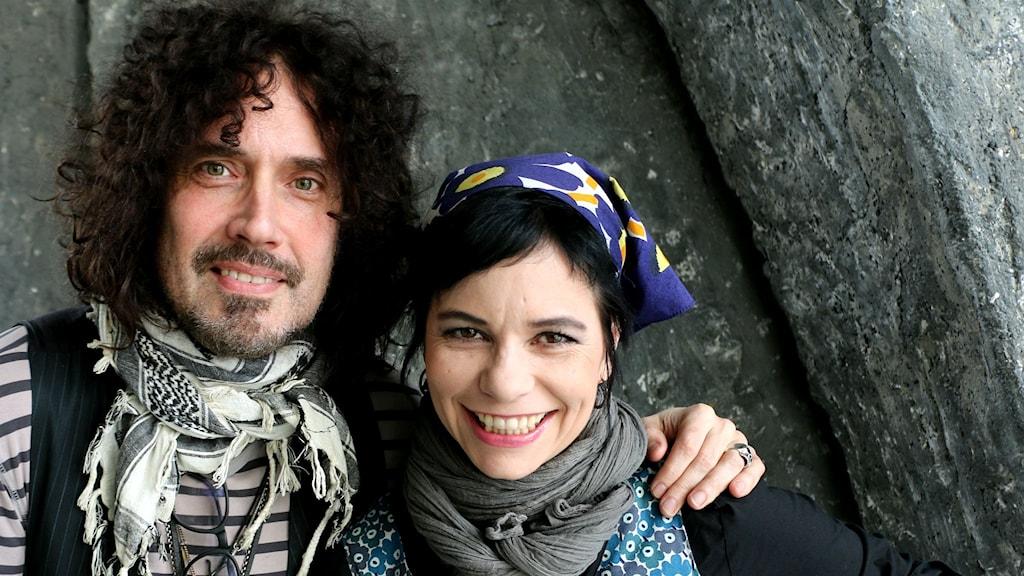 Conny Bloom och Carolina Norén