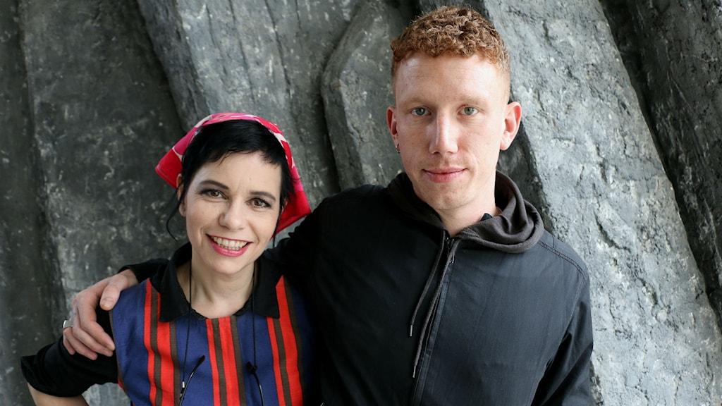 Carolina Norén och Erik Hassle