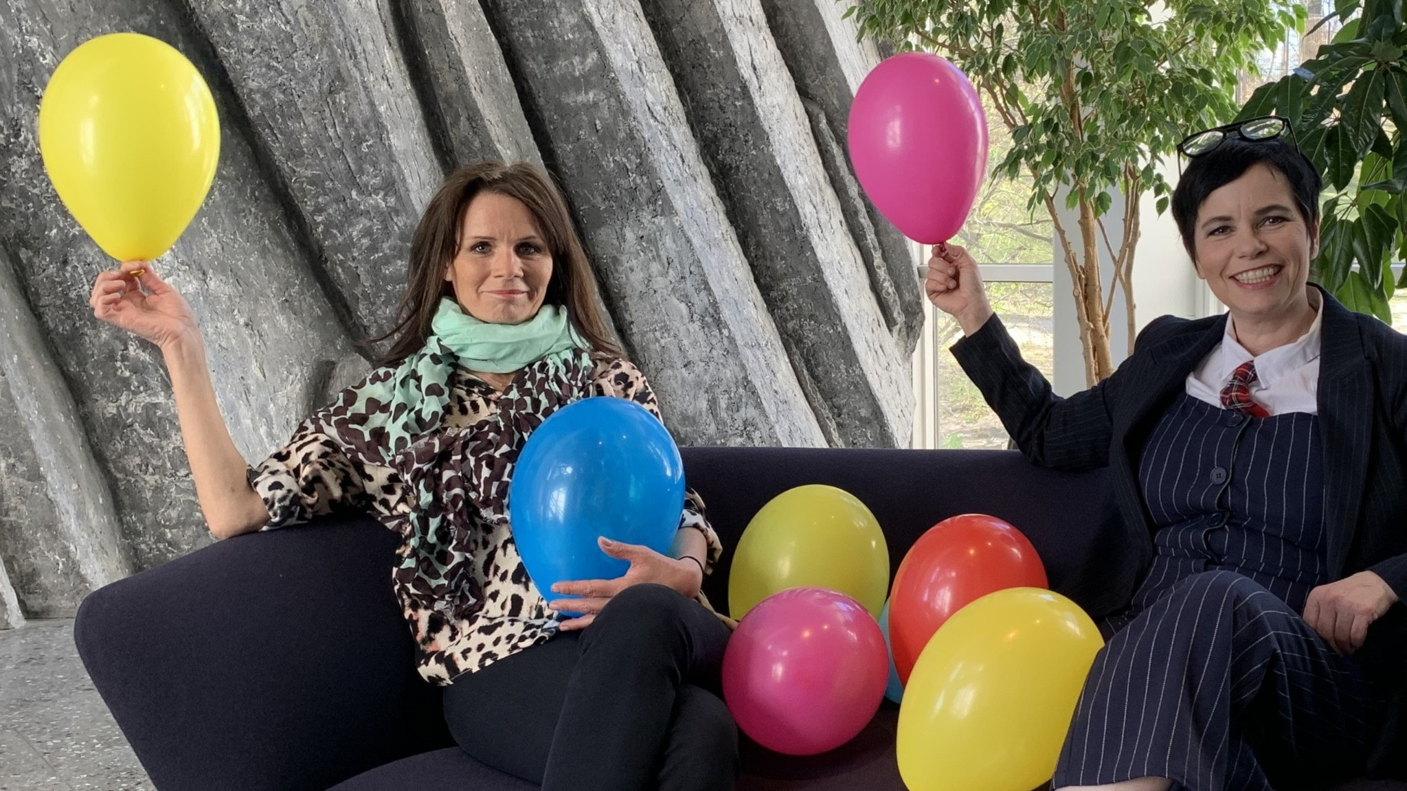 Lena Philipsson och Carolina Norén.