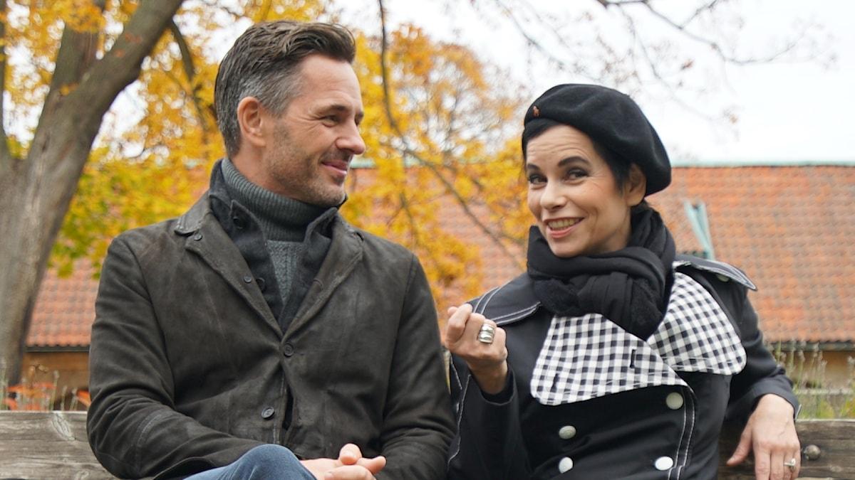Carolina Norén och Peter Jöback