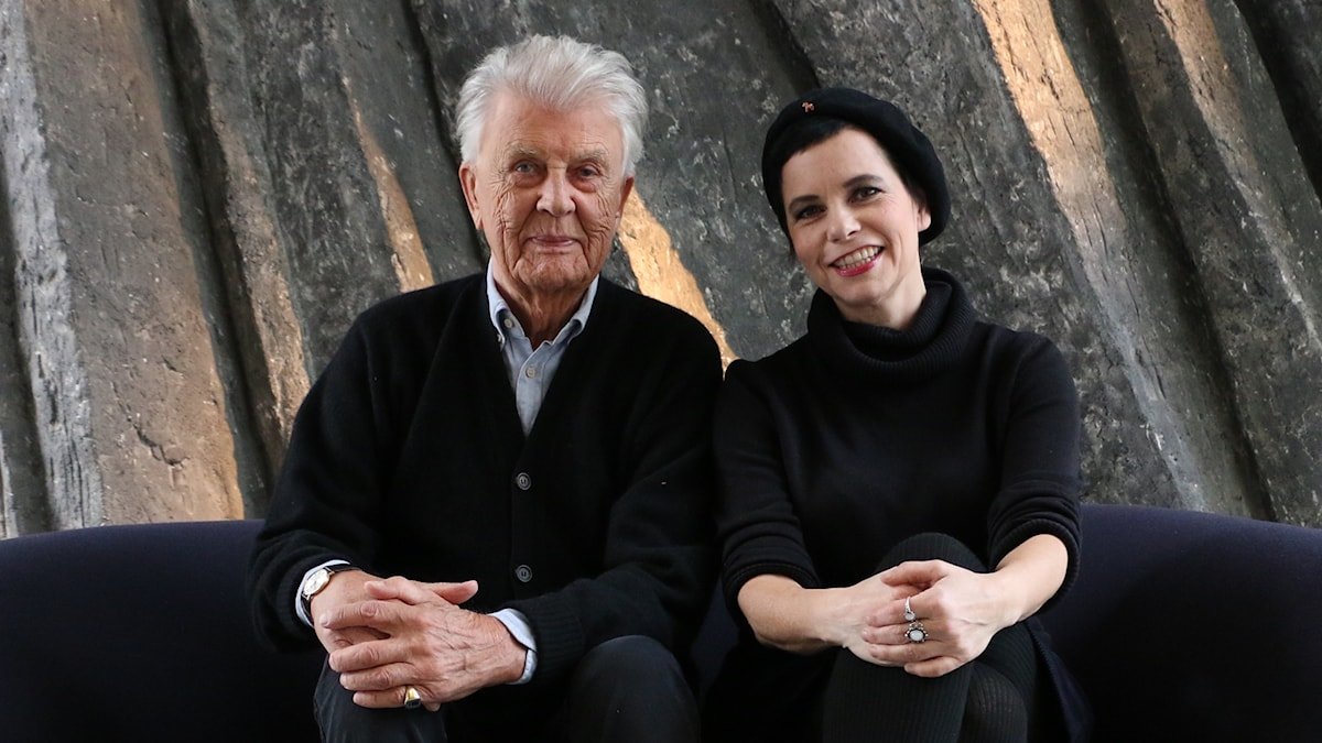 Sven-Bertil Taube och Carolina Norén.