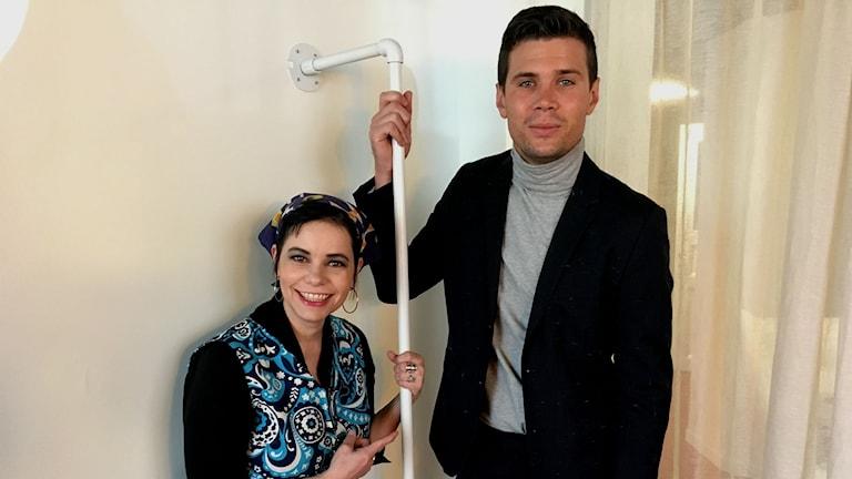 Carolina Norén och Robin Bengtsson