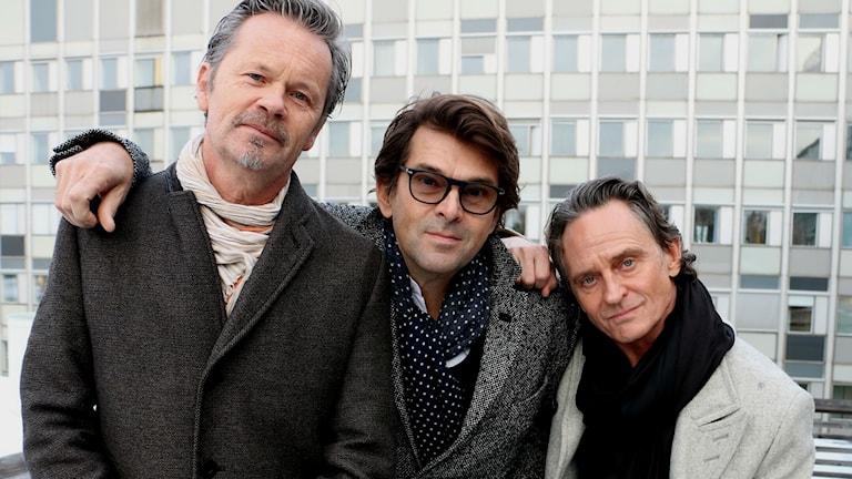 Anders Glenmark, Niklas Strömstedt, Thomas Orup Eriksson.