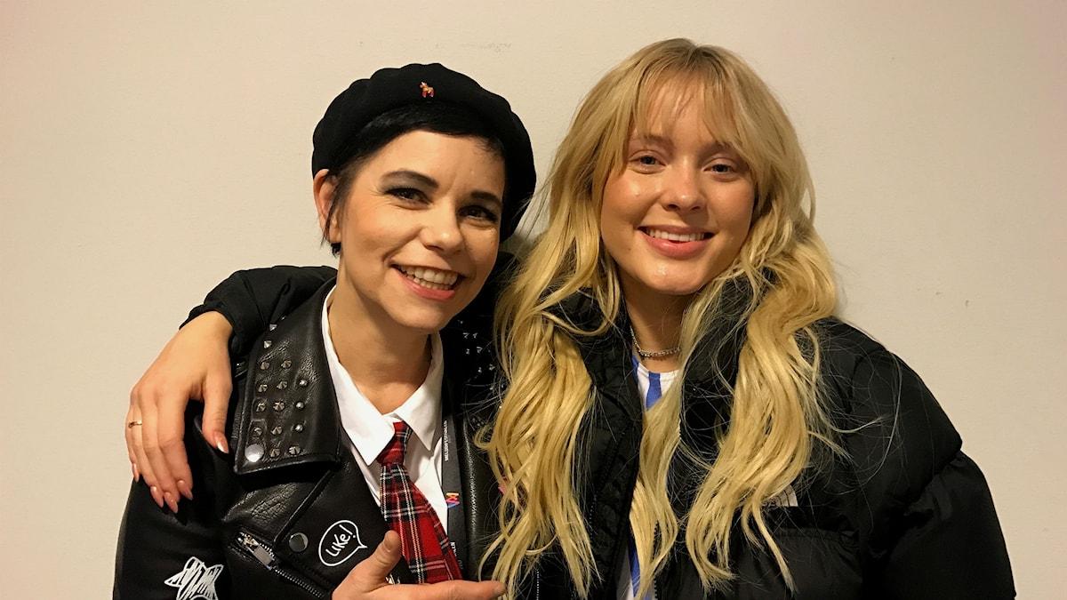 Carolina Norén och Zara Larsson